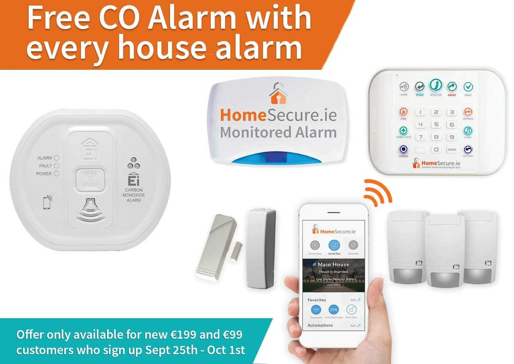 free carbon alarm home safety system
