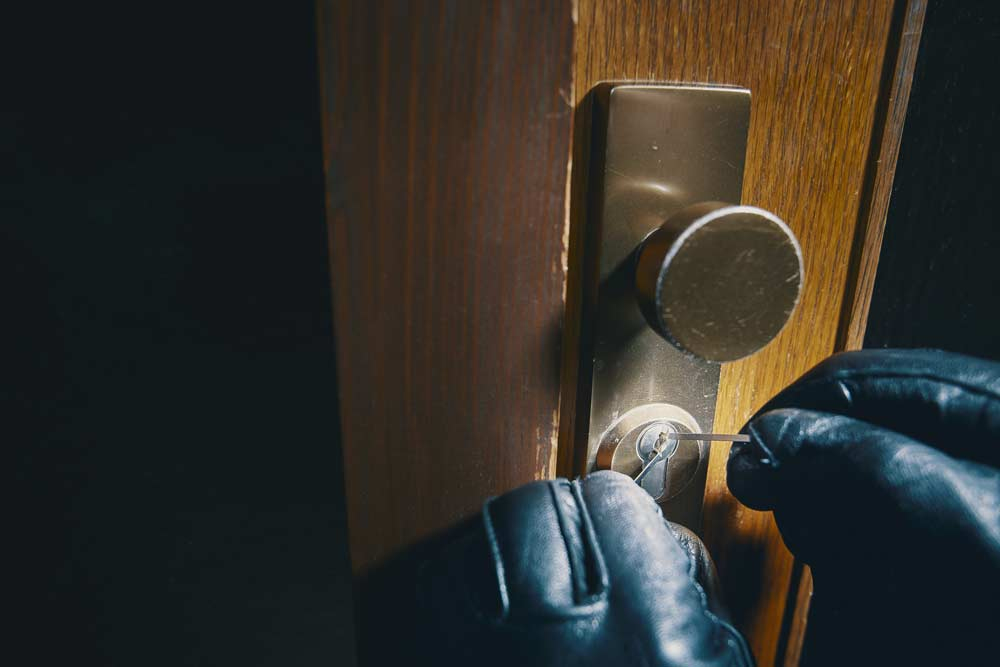 one in five irish households broken into
