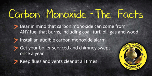 carbon monoxide in your home