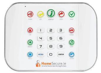 home alarm panel