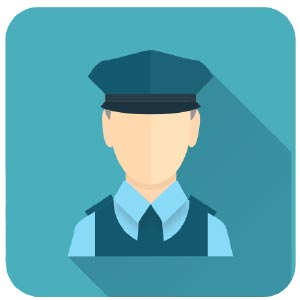 Irish garda animation