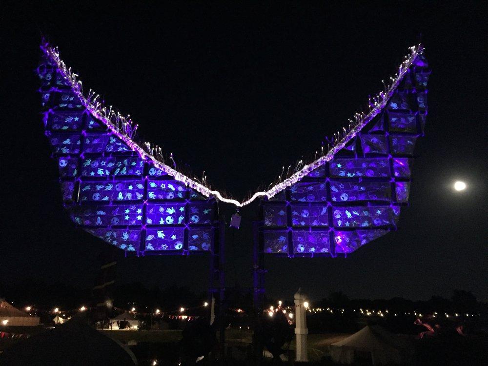 Wings Sculpture