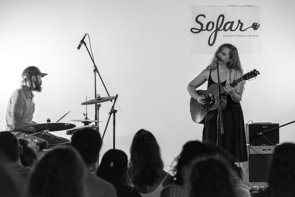 Mink's Miracle Medicine, live at Sofar Sounds DC. August 2017. Photo: Dylan Singleton Photography.
