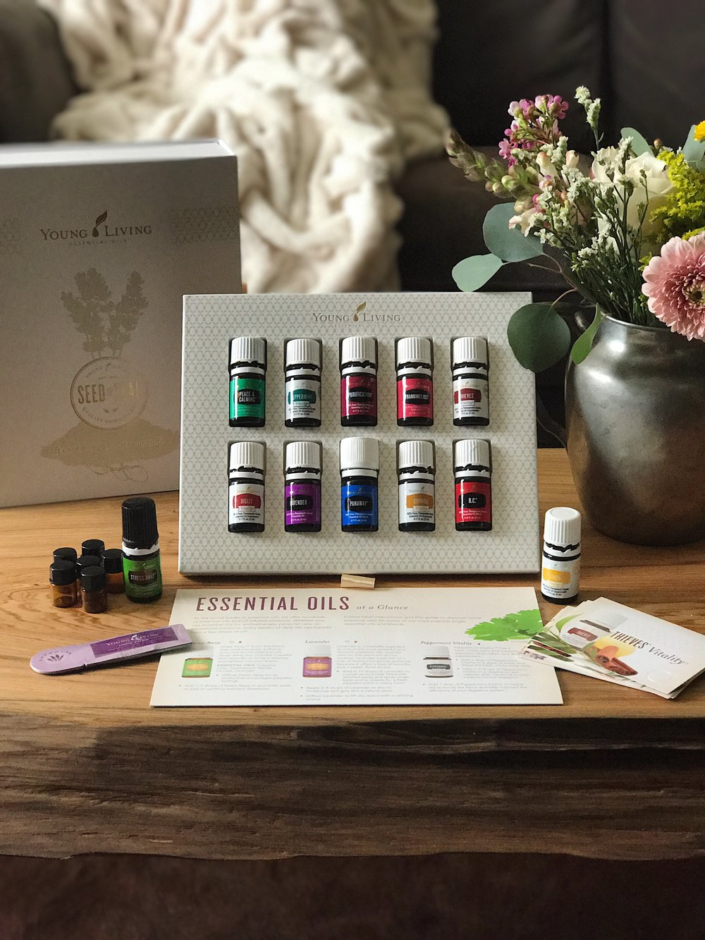 Want in on the world of oils?  -