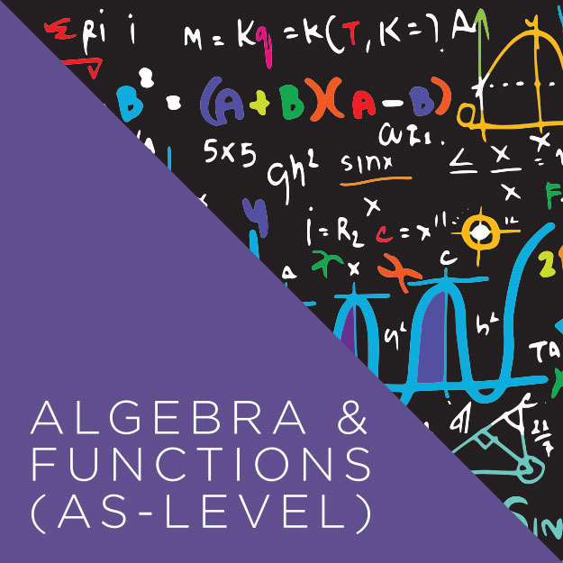 Algebra & Functions AS Level Course Image
