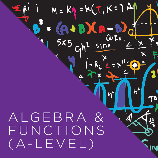 Algebra & Functions A Level Course Image