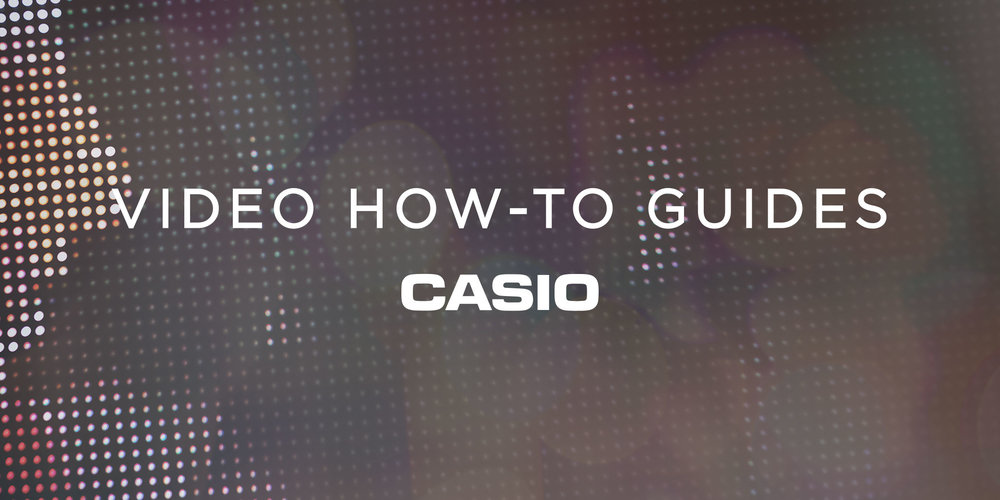 Casio Video How To Guides Picture
