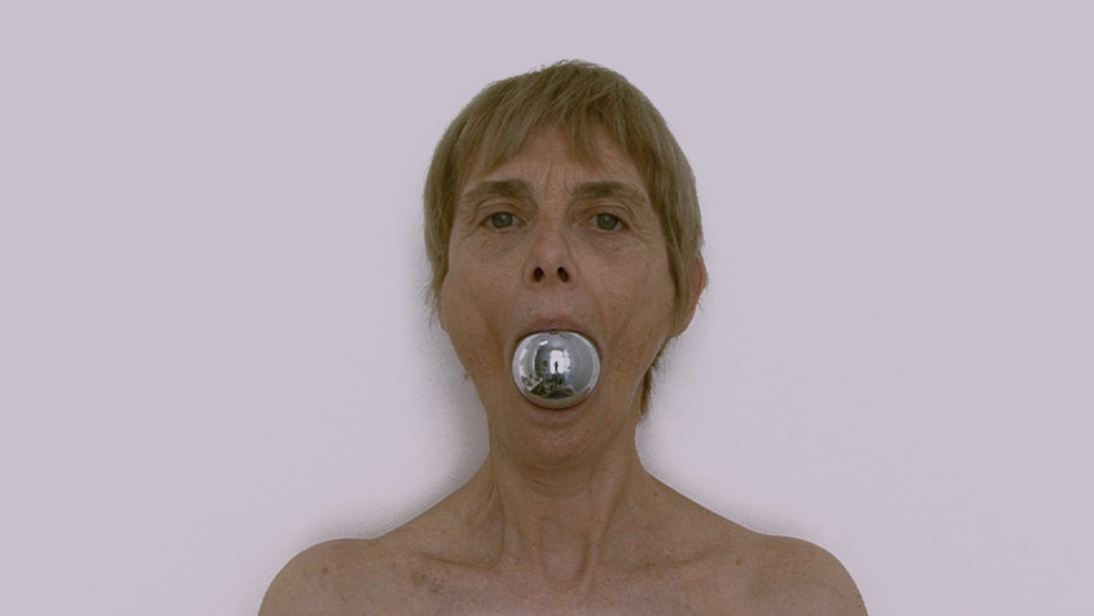 © Chantal duPont,  Visages  (2013). Video still.
