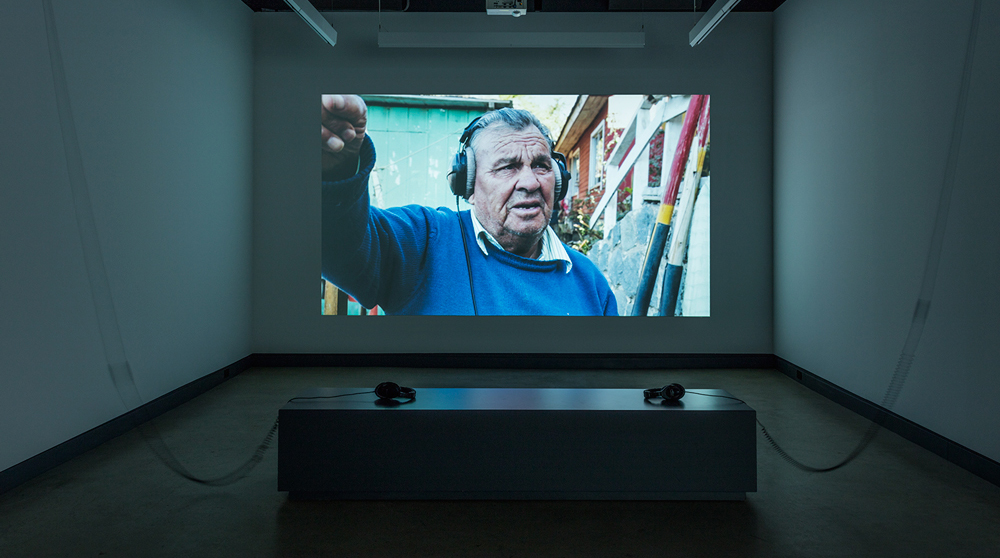 © Sandra Volny,Where does sound go, where does it come from(2016). Exhibition view. Photo: Richard-Max Tremblay.