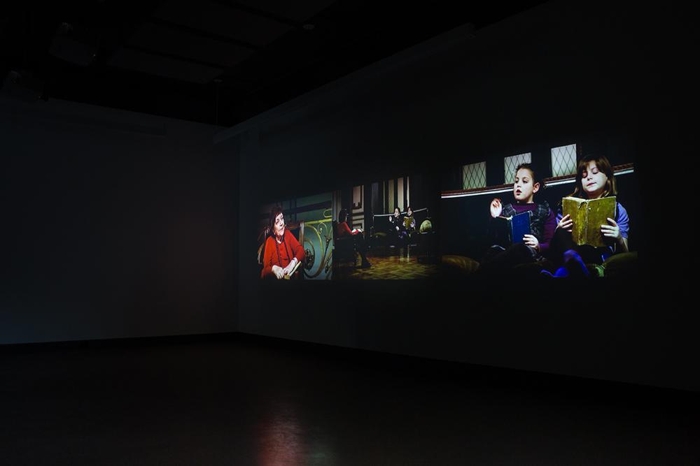 © Gabriela Golder, Conversation Piece (2012). Exhibition view. Photo: Marilou Crispin.
