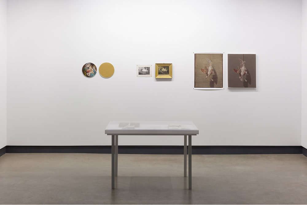 © Rosika Desnoyers, The Creative Industry of Mary Linwood  (2016). Exhibition view. Photo: Marilou Crispin.