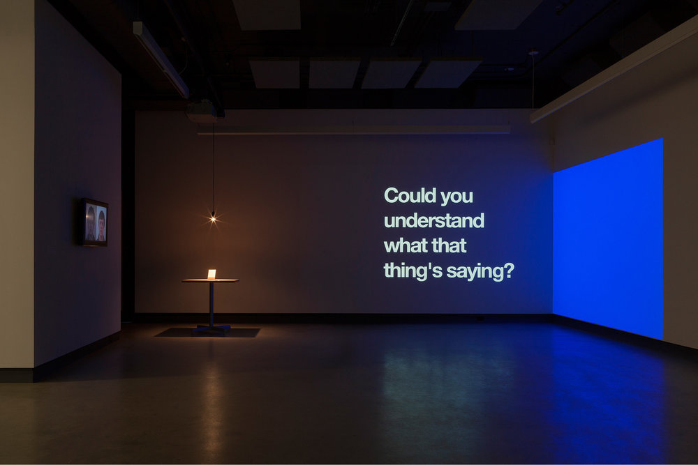 ©  Let's be open about... L'art conceptuel  exhibition view (2016). Photo: Marilou Crispin.