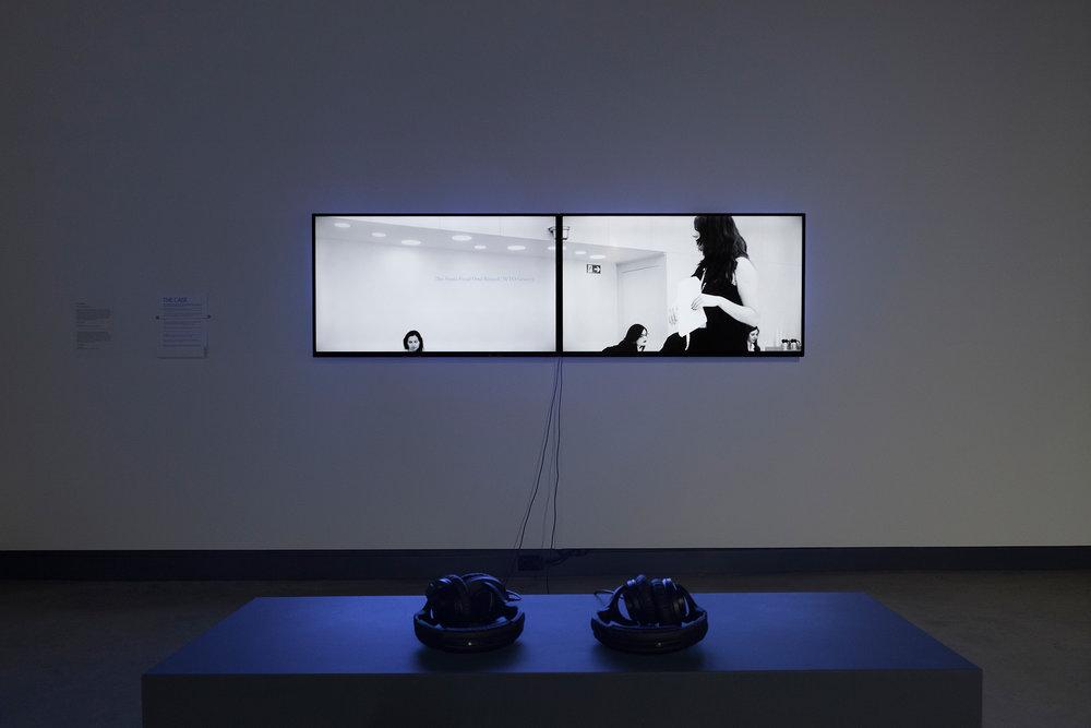 © Gabriela Löffel, The Case (2015). Exhibition view.Photo: Marilou Crispin.