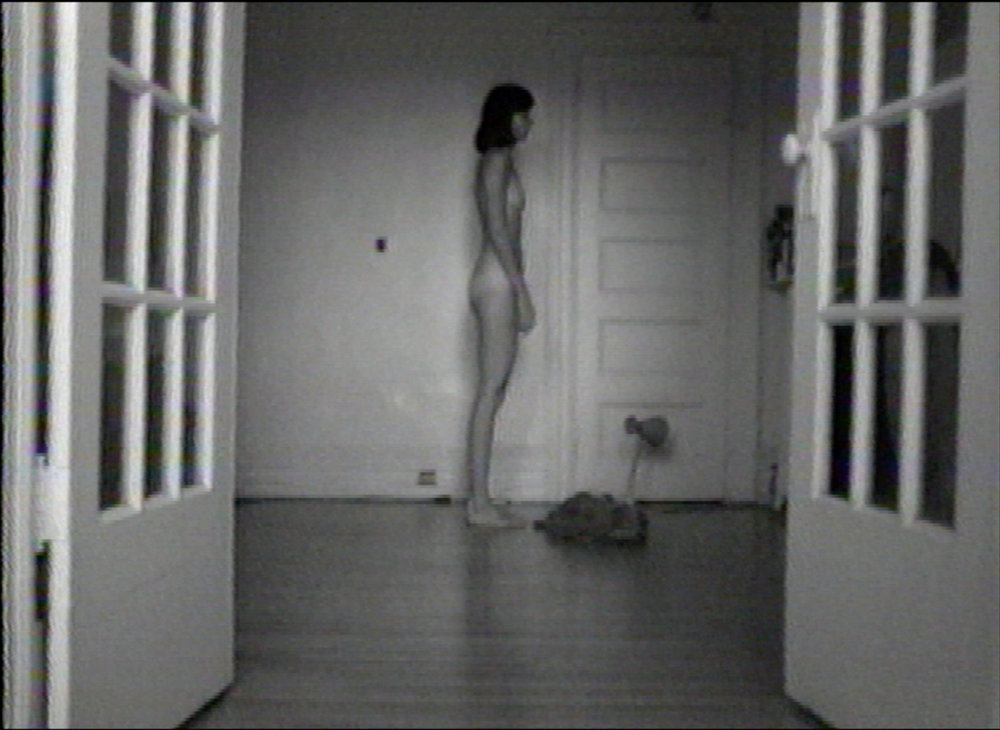 © Lisa Steele, Birthday Suit with Scars and Defects (1974). Exhibition view. Photo: Veronica Mockler.