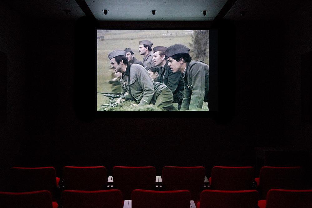 © Renata Poljak,Staging Actors/Staging Beliefs(2011). Exhibition view. Photo: Sara A. Tremblay.