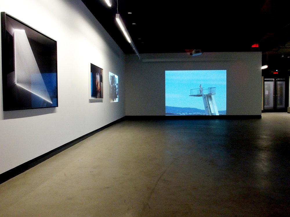©  Home Sweet Home. À propos de l'inquiétude  exhibition view (2014). Photo: Dazibao.