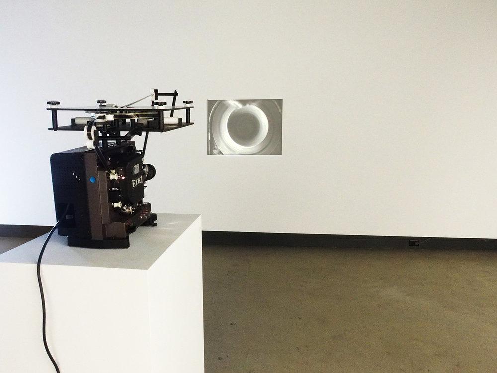 © Lorna Bauer and Jon Knowles, Rotations exhibition view (2014). Photo: Dazibao.