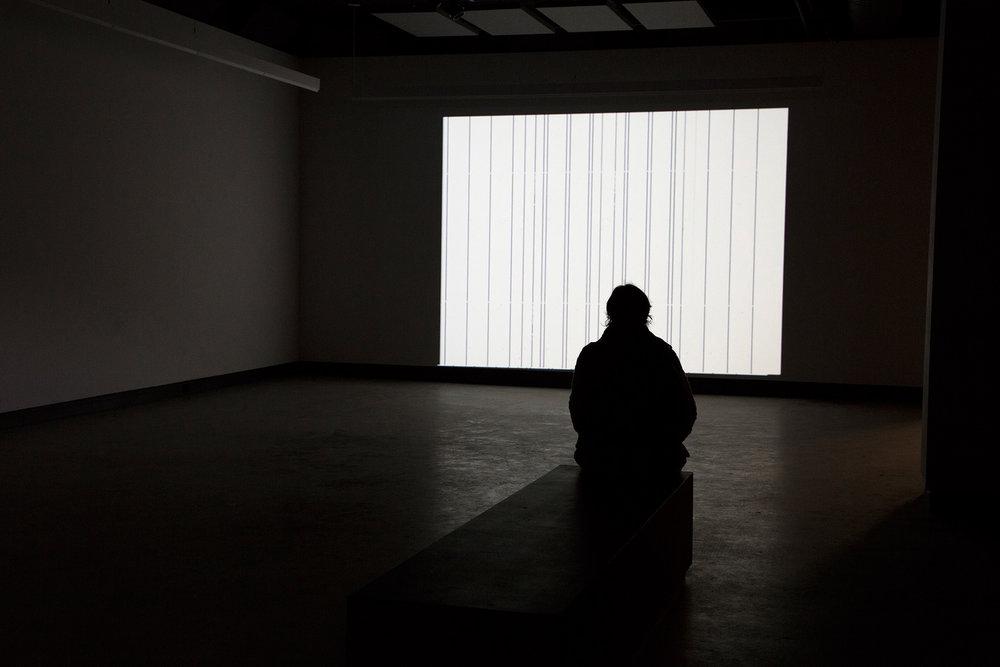 © Annja Krautgasser,frame(2002). Exhibition view.Photo: Sara A. Tremblay.
