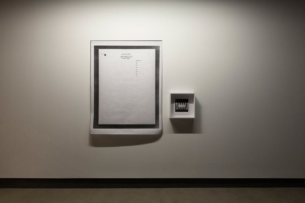 © Velibor Božović, view from the exhibition  Nothing Will Surprise You Here (2017). Photo: Marilou Crispin.