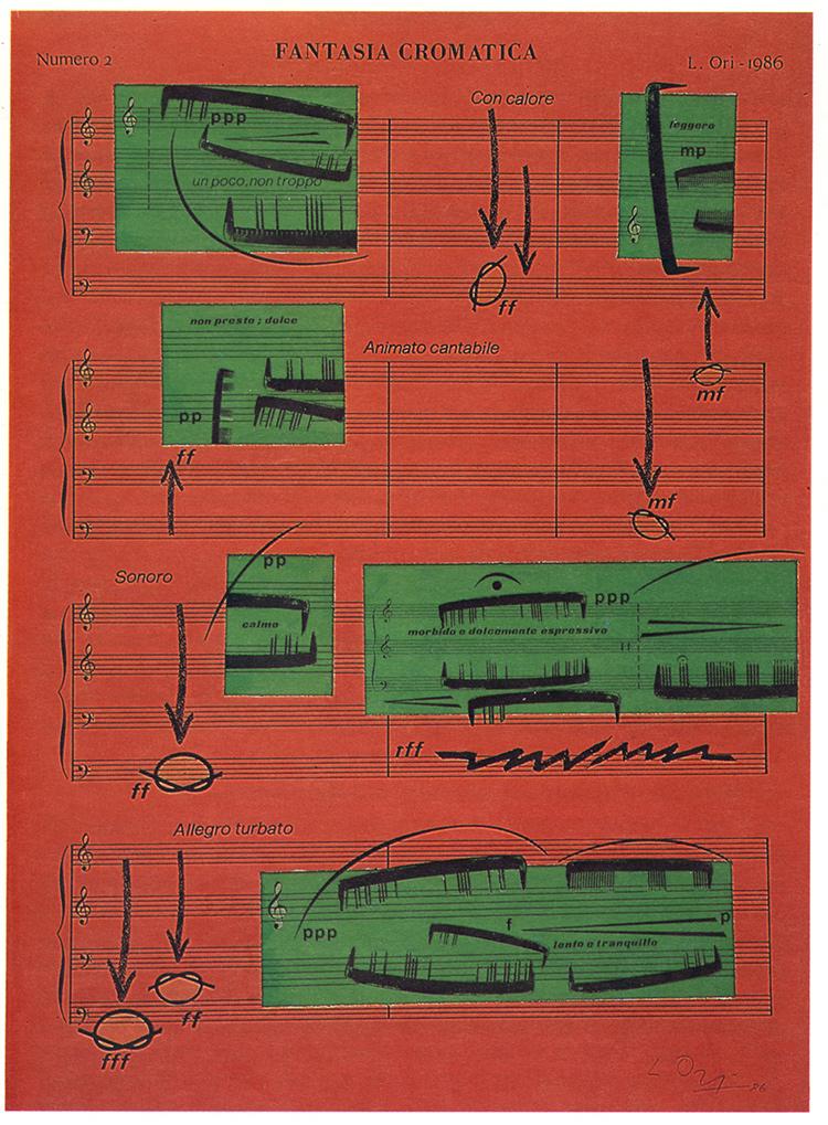 © Luciano Ori,Fantasia Chromatica (1986).