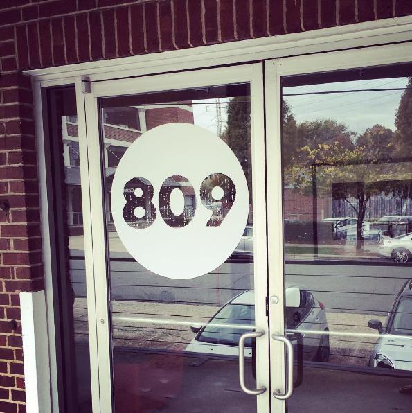 front door signage