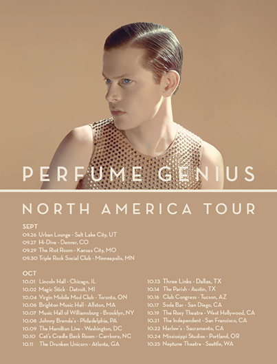 SUPPORT, PERFUME GENUIS, US TOUR