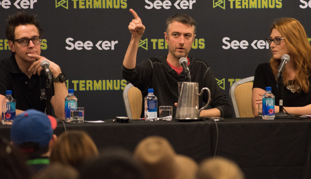 Q&A: JAMES & SEAN GUNN DIRECTOR/WRITER & ACTOR (Guardians of the galaxy)