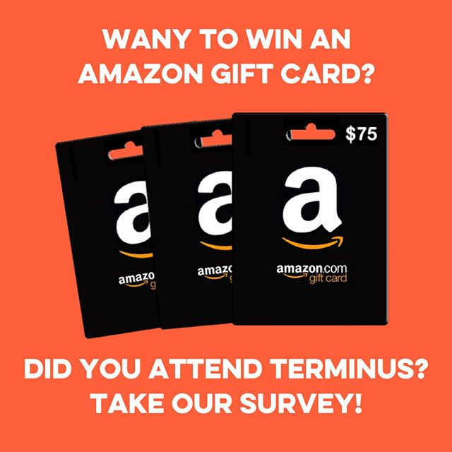 Thank you so much to everyone that attended TERMINUS 2018!! We'd love your feedback to help us improve TERMINUS for next year, AND you could win a $75, $50 or $25 Amazon Gift Card! Follow this link https://buff.ly/2KwGSZK to fill out the survey. The deadline to enter is 11:59pm Monday, July 2nd, so don't delay! #TERMINUS2018