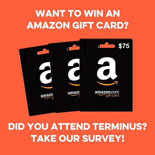 Thank you so much to everyone that attended TERMINUS 2018!! We'd love your feedback to help us improve TERMINUS for next year, AND you could win a $75, $50 or $25 Amazon Gift Card! Follow this link  https://bit.ly/2yUpKZd to fill out the survey. The deadline to enter is 11:59pm Monday, July 2nd, so don't delay! #TERMINUS2018