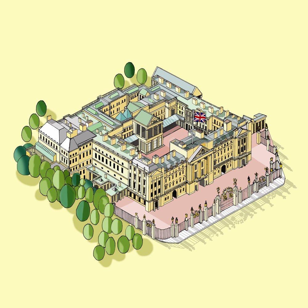 Buckingham Palace © Katherine Baxter