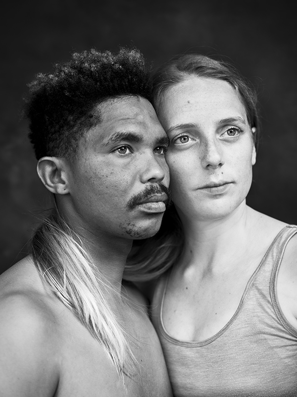 Alfonso and Emma/Interracial South Africa