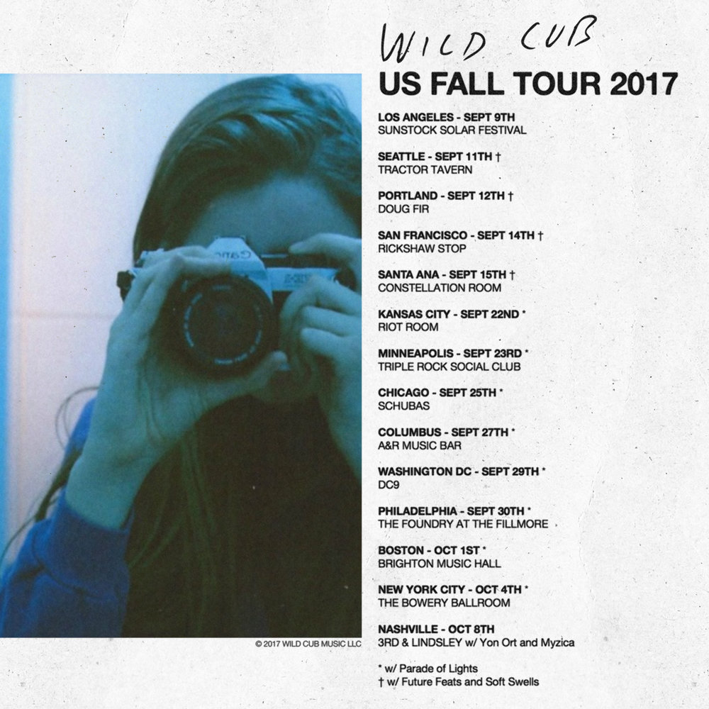 GRAB YOUR TICKETS FOR THE FALL TOUR