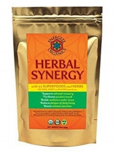 Herbal Synergy is designed to restore balance and order to the nervous system and reinforce the hypothalamus-pituitary- adrenal branch of the endocrine system under the stresses of modern living. Due to the wide-ranging beneficial effects of its many botanical constituents, Herbal Synergy not only helps to alleviate the exhaustion imposed by daily stress, but may also improve the functional imbalances in the nervous system that restrict personal freedom and joy in LIVING.