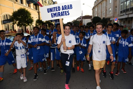 INTERSPORT Youth Soccer Festival Opening Ceremony