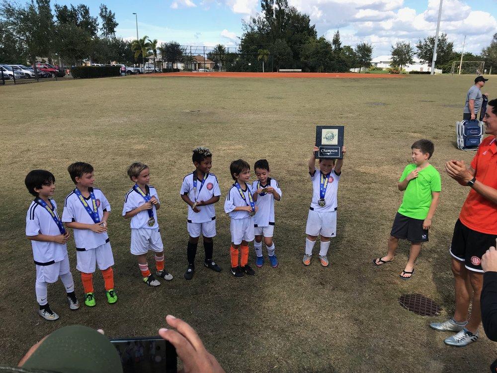 The Gulf Coast Cup 2017 Champions.