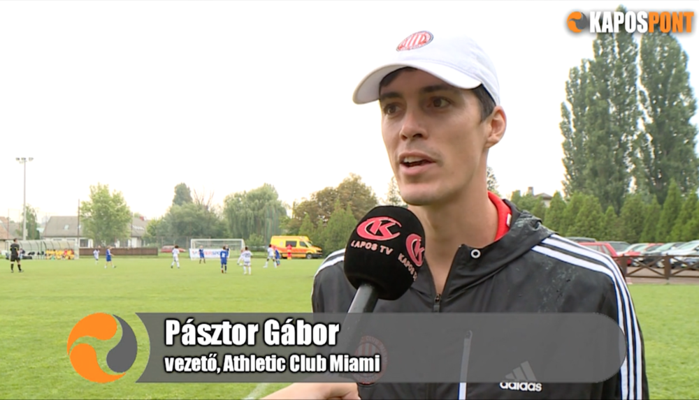 Gabor Pasztor interview