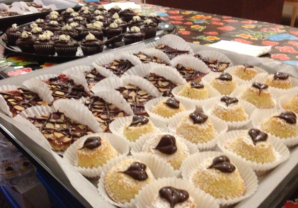 Cupcakes, tarts, bars
