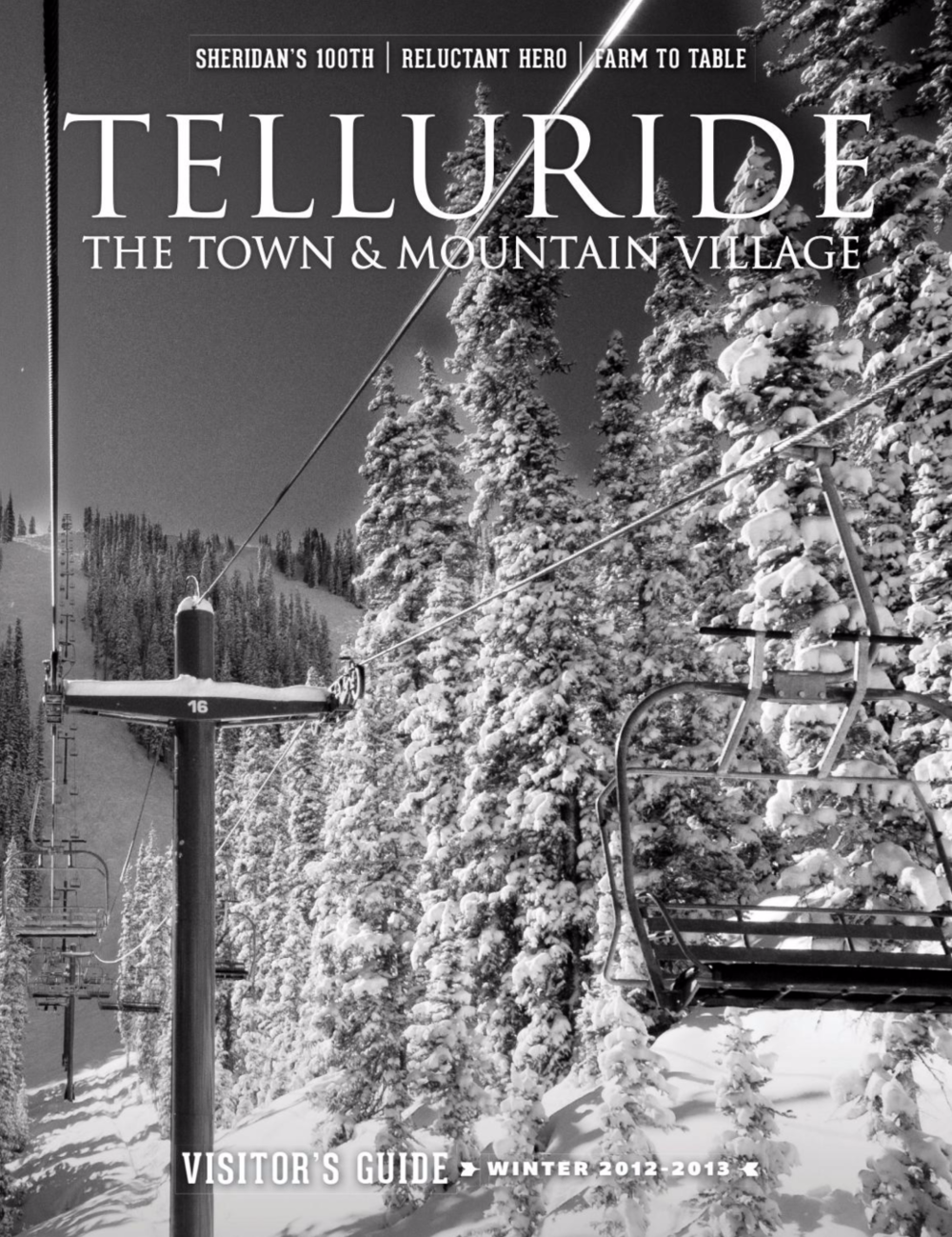 Telluride Visitor's Guide | Winter 2012-13