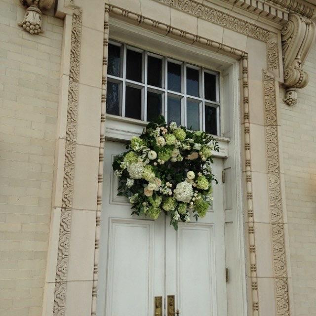 lillie jane church door wedding design