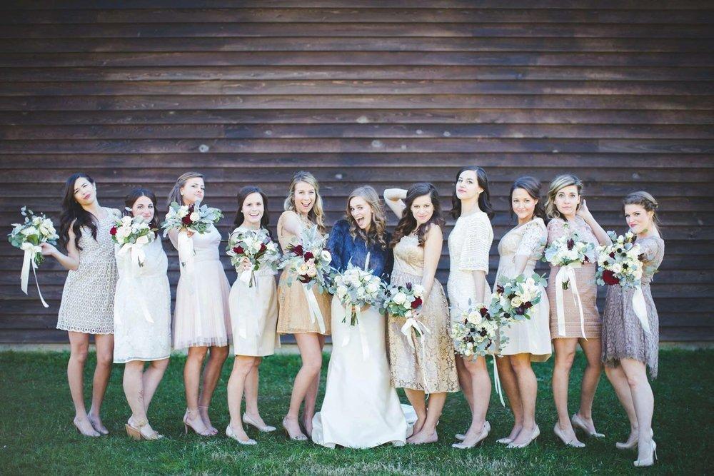 lillie jane wedding bridesmaid