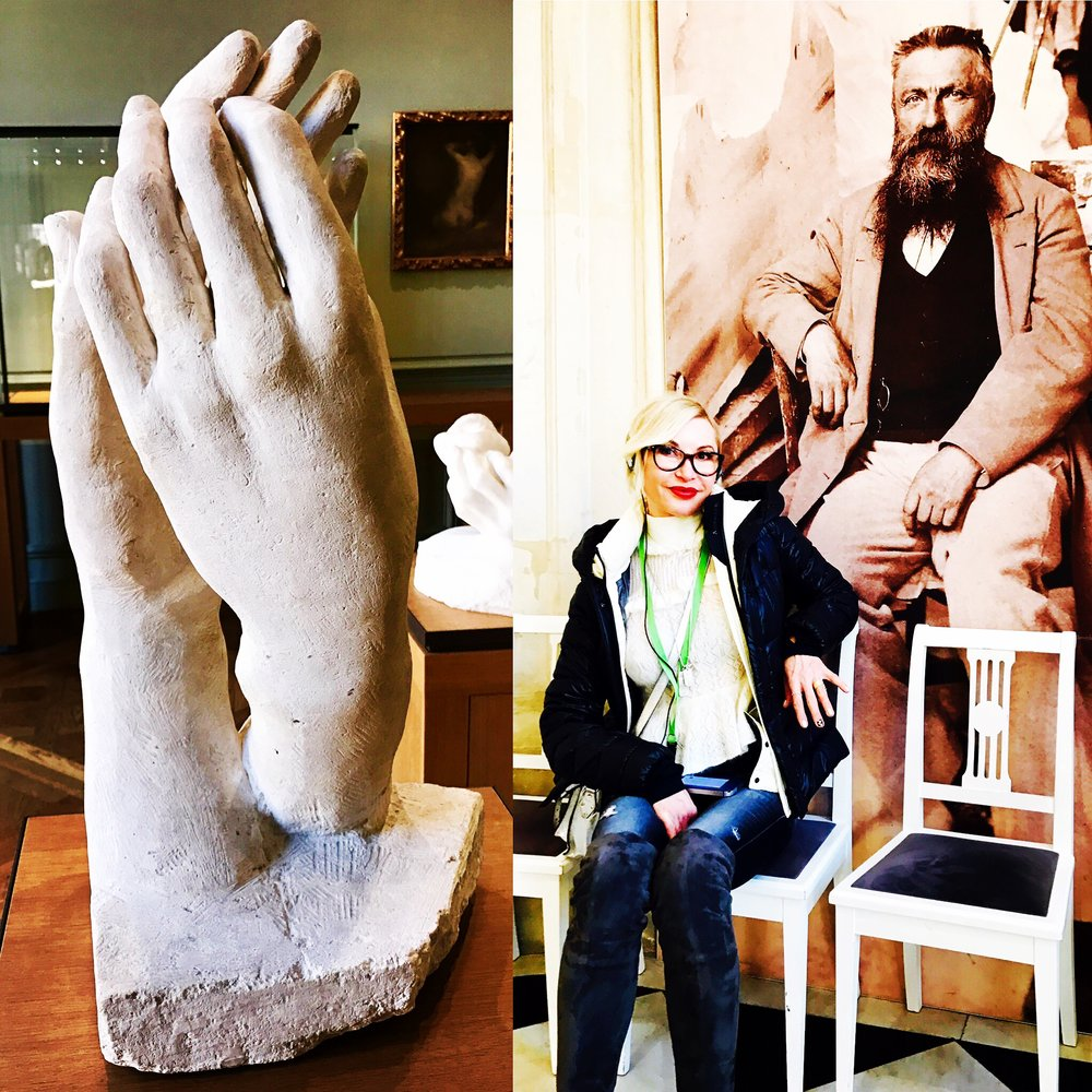 Musée Rodin in Paris! I LOVE ❤️ this pic