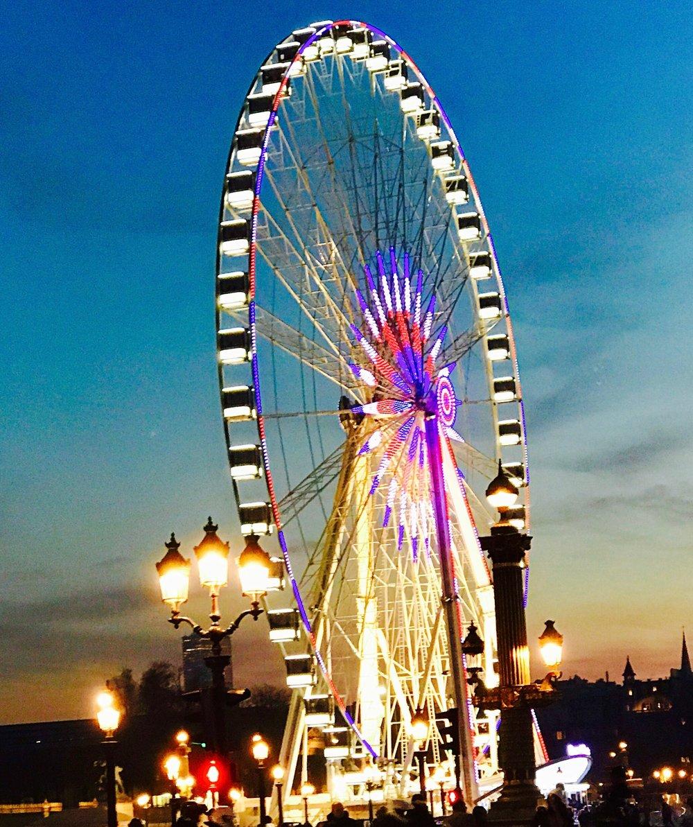 La Grande Roue at the Tuileries!