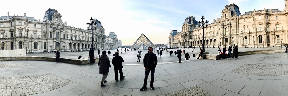 The Louvres Museum and the Pyramide
