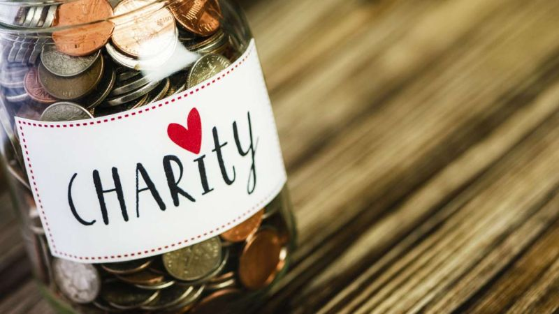 Charitable donations from Estate Sales