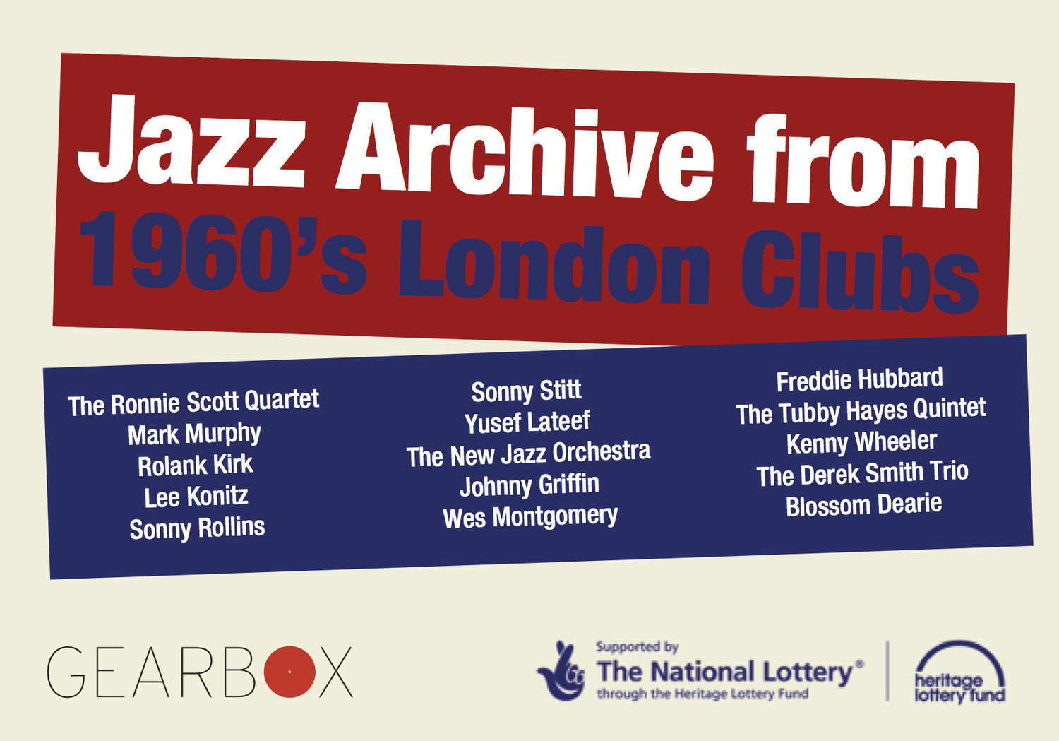 Jazz Archive from 1960's London Clubs
