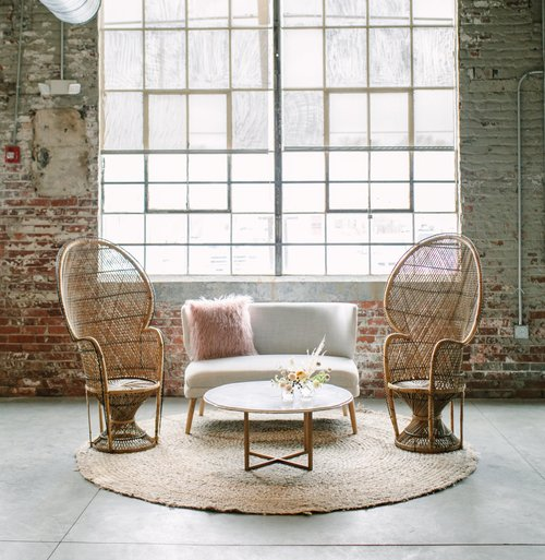 Bohemian Lounge Area Package - Antiquity Furniture Rental