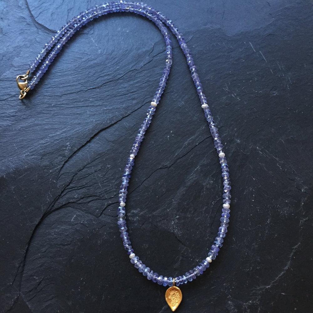 blue tanzanite gold teardrop full.JPG