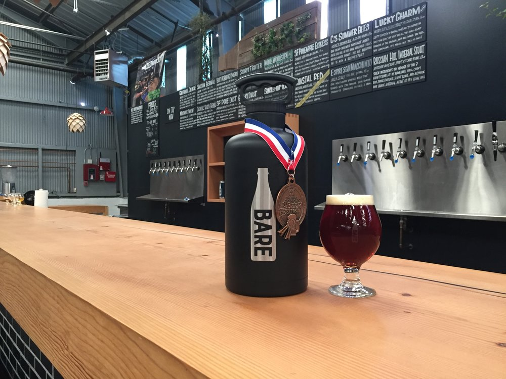 Our Coastal Red Imperial Amber Ale recently took home Bronze at the 2016 Great American Beer Festival.