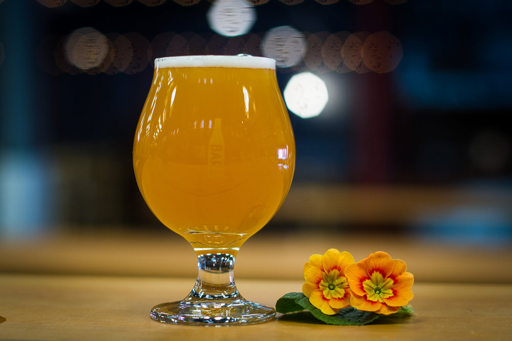 Our Oolong Tea Saison brewed with Oolong Green Tea and Osmanthus flowers.