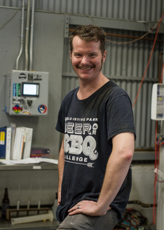 Steven Slater  - Head Brewer and lover of Beer & BBQ's
